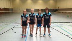 Badminton: nur die U17-Mannschaft war siegreich