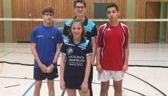Badminton: vier Siege aus fünf Spielen für TVD-Teams