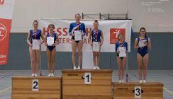 Doppelmini-Trampolin: Sophia Jung ist Hessenmeisterin