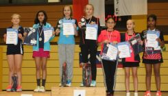 Badminton: Josefine Hof bei südwestdeutscher Meisterschaft