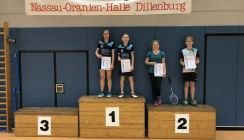 Badminton: Ergebnisse 2. Bezirksrangliste U11 – U19