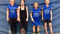 Badminton: TVD-Nachwuchs am Wochenende in zwei Sporthallen aktiv gewesen