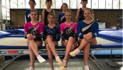 Trampolin: Sechs Turnerinnen des TVD qualifizieren sich für die Deutsche Meisterschaft