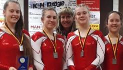 Trampolin: Alice Gehrmann gewinnt mit Mannschaft deutschen Vizemeistertitel