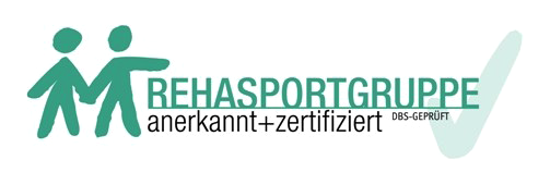 Rehasportgruppe anerkannt und zertifiziert