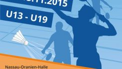 Badminton - Hessische Meisterschaft U13 - U19 in Dillenburg